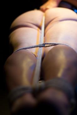 Slave in Ropes